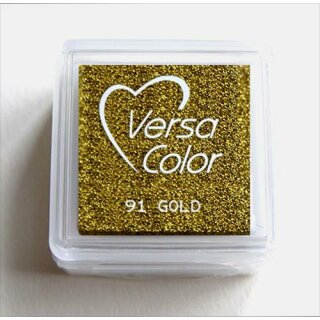 Versa-Color Pigment-Stempelkissen 25 x 25mm 91  Gold
